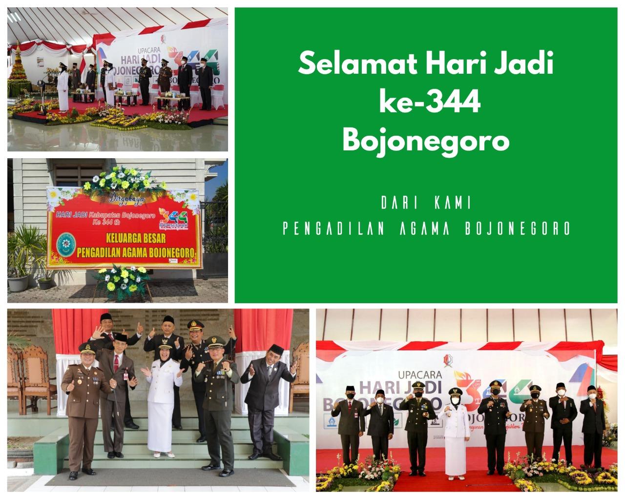 Selamat Hari Jadi Ke 344 Kabupaten Bojonegoro